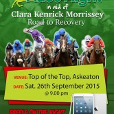 In aid of Clara Kendrick Morrisey Road to Recovery