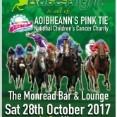 in aid of Aoibheann's Pink Tie