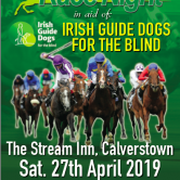 in aid of Irish Guide Dogs