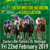 in aid of Irish Motor Neurone Disease Assoc.