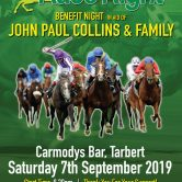 Race night in aid of John Paul Collins & Family